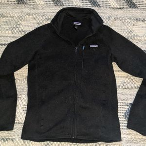 Patagonia Black Better Sweater Zip Jacket - Men's Small for Sale in Tacoma, WA