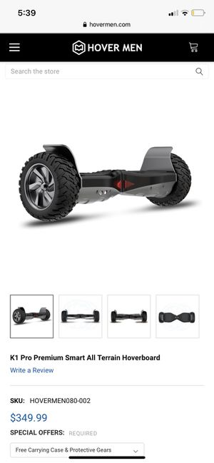 All terrain Bluetooth hoverboard for Sale in Haines City, FL