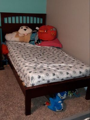 Twin size bed WHOLE FRAME ONLY for Sale in Pearblossom, CA