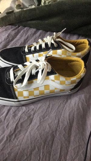 Checkered vans size 7 for Sale in Grandview, MO