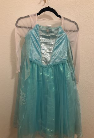 Disney Frozen Dress. Elsa Dress. Princess Dress. Size 7/8. for Sale in Chino, CA