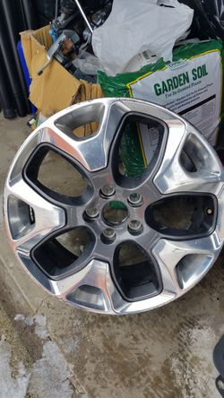 """Jeep Compass Wheel 2018-2020 Grey Polished 18"""" Factory OEM Wheel for Sale in Downers Grove,  IL"""