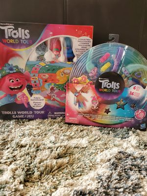 Trolls Board Game and bracelet maker for Sale in Palm Harbor, FL