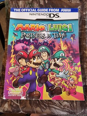Mario & Luigi: Partners in Time Guide Book for Sale in Albany, OR