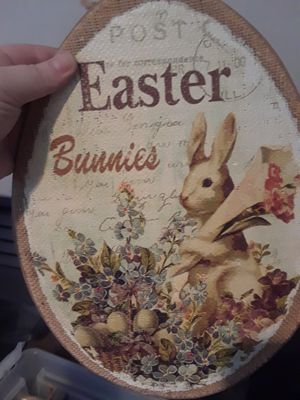 Easter stuff with storage container for Sale in Beaverton, OR