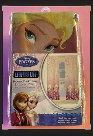 Disney Frozen Princess Window Curtain for Sale in Hanover Park, IL