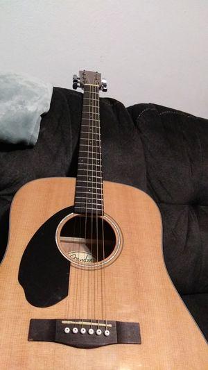 Acoustic Guitar, left handed, fender model for Sale in Dayton, OH