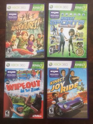 XBOX 360 Kinect Games for Sale in Raleigh, NC