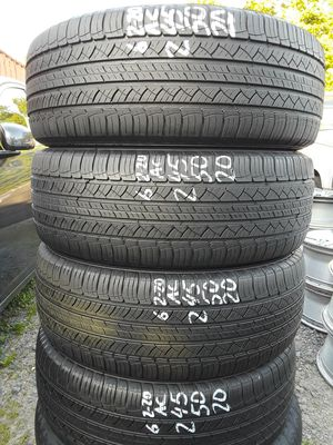 245/50-20 #4 tires for Sale in Alexandria, VA