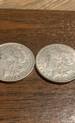 A Set Of 1882 0 And 1882 P Beautiful Coins. for Sale in Fort Worth,  TX