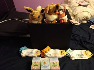 PokeCenter Stuffed Pokemon and Figures for Sale in BVL, FL