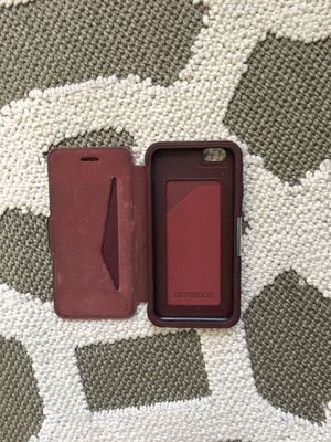 iPhone 6s Otterbox wallet case for Sale in Houston, TX