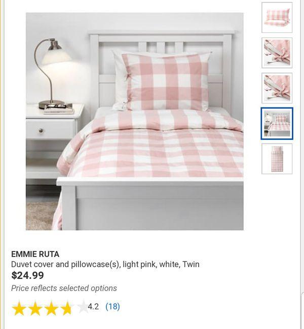 FULL/QUEEN IKEA Emmie Ruta Duvet Cover & 2 Pillow Cases