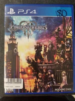 Kingdom Hearts 3 Ps4 for Sale in Lakeland, FL