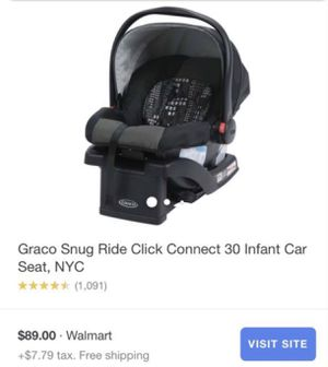 Graco Infant car seat for Sale in Rancho Cordova, CA
