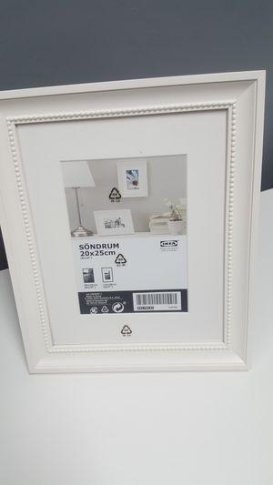 2 IKEA white photo frames for Sale in San Bernardino, CA