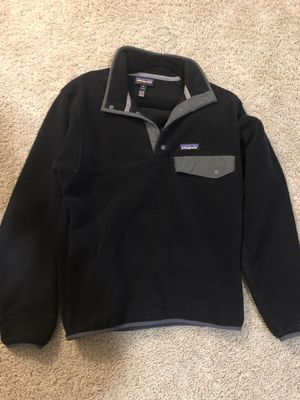 Patagonia Synchilla Snap-T Pullover Fleece Black XS for Sale in Houston, TX