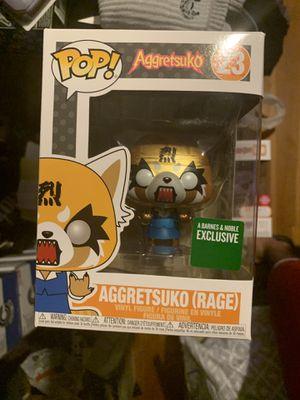 Aggretsuko Rage Funko POP metallic Barnes and Noble Exclusive for Sale in Niles, IL