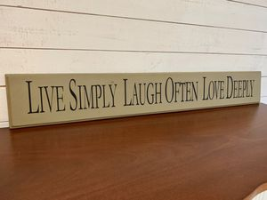 Home decor sign for Sale in Puyallup, WA