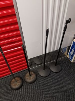 4 Mic stands for Sale in The Bronx, NY