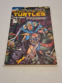 Teenage Mutant Ninja Turtles No. 8 First Print 1986 Mirage Studios Eastman And Laird's, Cerebus Appearance Rare Very Fine Condition for Sale in Fresno,  CA