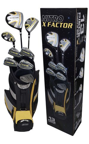 *New* 13 Piece Men's Golf Club Set, Right Hand. for Sale in Ontario, CA