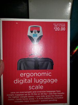 Digital Luggage Scale for Sale in Tacoma, WA