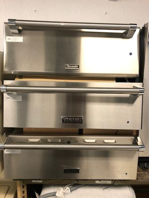 stainless steel warming drawer VIKING &THERADOR //free delivery for Sale in Phoenix, AZ