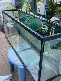 Fish Tank W Filter And Accessories Included for Sale in Fontana,  CA