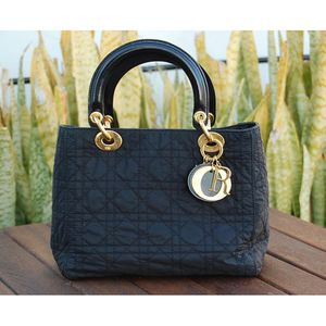 Authentic Vintage Dior Cannage Lady Nylon Bag for Sale in San Diego, CA