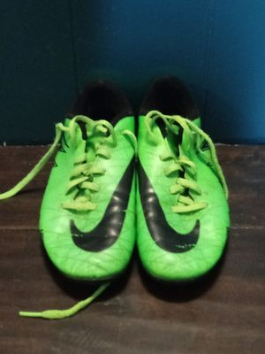 Nike green soccer shoe's for Sale in Ceres, CA