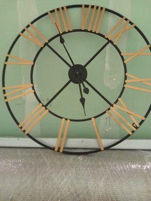 Wall clock metal for Sale in San Francisco, CA