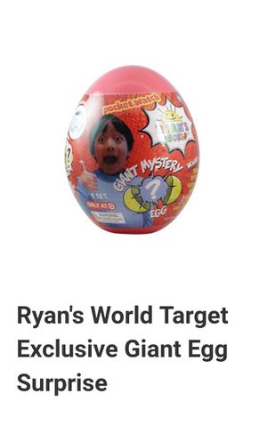 Ryan's World Giant Mystery Egg for Sale in Pembroke Pines, FL