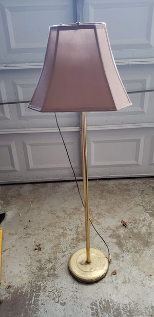 """Tall 54"""" Floor Lamp - 3-way lighting for Sale in Saint Charles, MD"""