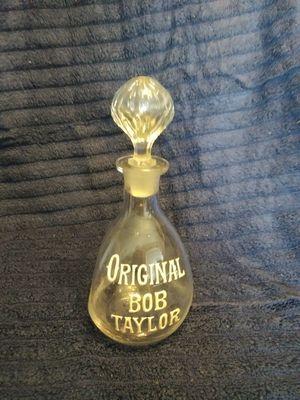 Antique Original Bob Taylor pinch bottle for Sale in Richardson, TX