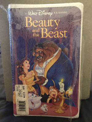 VHS Beauty and the beast BRAND NEW for Sale in Sunnyvale, CA
