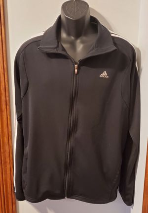 Adidas Lightweight Black Jacket for Sale in Middletown, MD