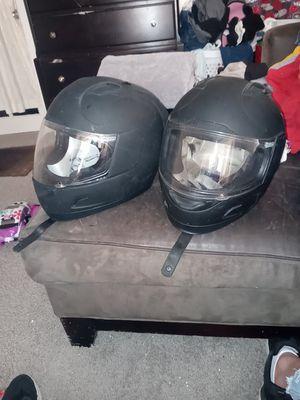 Icon Alliance motorcycle helmets for Sale in Wichita, KS