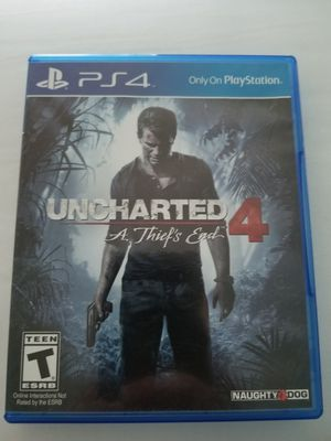 """UNCHARTED 4 """"A Thief's End"""" (PS4) for Sale in Paint Rock, TX"""
