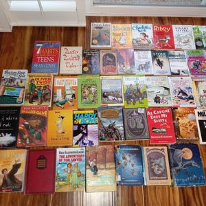 (43) Kids Chapter Books- Great Condition- Good Variety! (Grades 2-5)-$40(san jose south) for Sale in San Jose, CA