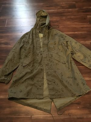 Parka camouflage coat for Sale in Henderson, NV