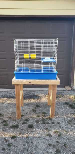 Cage and stand for Sale in Appleton, WI