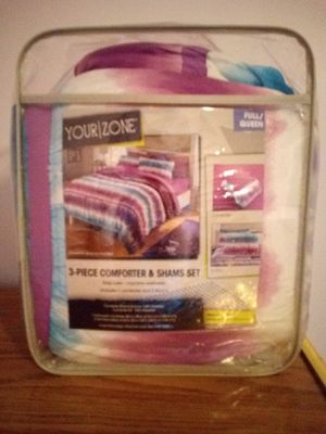 F/Q comforter set for Sale in Richland City, IN