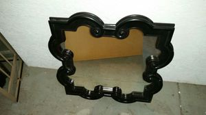 Black Scroll Frame Mirror for Sale in Baltimore, MD