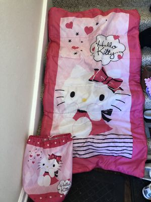 Hello kitty sleeping bag for Sale in Aurora, CO
