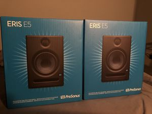 ProSonus Eris E5 (Pair of Monitors) for Sale in INDN HBR BCH, FL