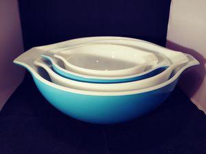 Pyrex. Vintage cinderella mixing bowls. for Sale in Denver, CO