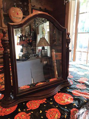 Antique Mahogany Shaving Mirror for Sale in Spring Valley, CA