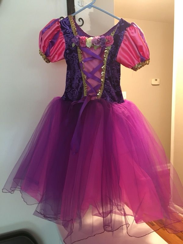 Kids Rapunzel Halloween Costume