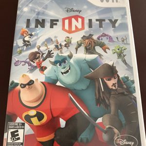 Wii game disney infintiy for Sale in West Columbia, SC